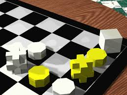 Futuristic Chess Set Chessblocks The Modern Chess Set A Cool Board Game To Play