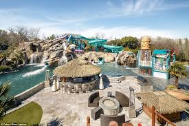 How To Make A Lazy River In Your Backyard Incredible 32million Dallas Mansion Hits The Market Complete With