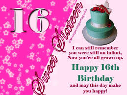 birthday wishes for sixteen year old wishes greetings pictures