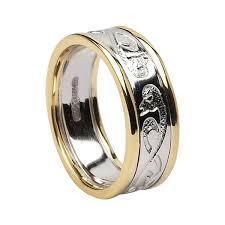 mens celtic rings le cheile celtic ring handmade wedding rings