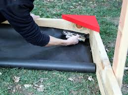 how to build a covered sandbox how tos diy