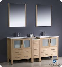 Bathroom Vanity 72 Double Sink Fresca Torino 72