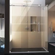 corner shower stalls stunning one piece shower units to your