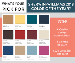 curbly it u0027s sherwinwilliams color of the year time facebook