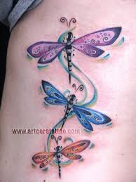 feminine dragonfly feminine late tattoos dragonfly