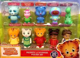 daniel tiger plush toys daniel tigers neighborhood friends stuffies exclusive mini figure