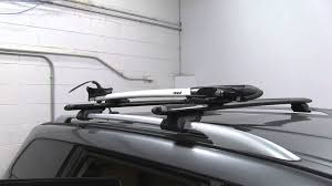 nissan pathfinder youtube 2015 review of the thule roof bike racks on a 2015 nissan pathfinder