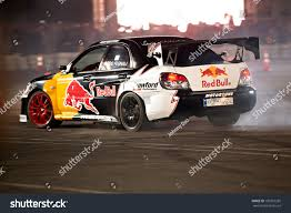 subaru drift car mishref kuwait february 10 unidentified driver stock photo
