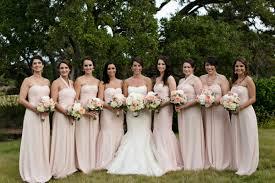 blush bridesmaid dress strapless blush bridesmaids dresses elizabeth designs the