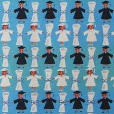 graduation wrapping paper 1950 s bridal shower gift wrap paper vintage wrapping paper
