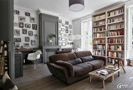decor cheminee salon la maison en ville de béatrice e magdeco magazine de décoration