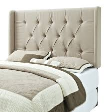 Tufted Upholstered Headboard Pulaski Mirabella Tufted Panel Headboard With Wings