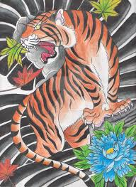 japanese tiger by creaturesofnat on deviantart