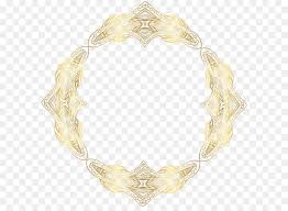 pattern gold necklace images Necklace pattern border gold frame png clip art png download jpg