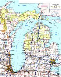 Mi County Map Michigan Map With Cities And Towns Utvgh New State And County Maps