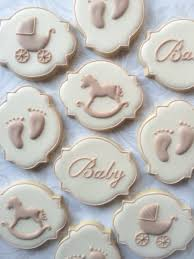 baby shower cookies gender neutral baby shower cookies one dozen