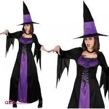 spellbound witch women ladies halloween fancy dress costume
