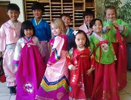 philippines traditional clothing for kids grandsons handsome or pretty in pink for the korean new year
