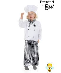 Chef Costume Childrens Chef Costume Age 3 7 Years Pretend To Bee