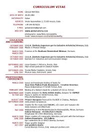 format of carriculum vitae gallery of examples of resumes 9 example simple filipino resume