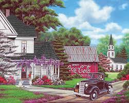 jigsaw puzzles coca cola country springbok 1000