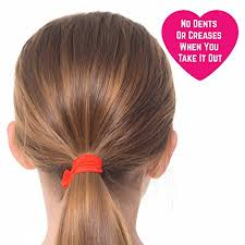 christmas hair accessories no crease hair ribbon ties for christmas gift pack of