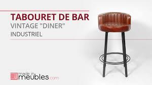 mobilier diner americain tabouret de bar vintage diner youtube