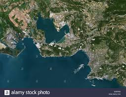 Marseille France Map by Marseille France True Colour Satellite Image Marseille France