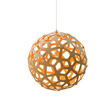 coral contemporary wooden light for dining room living room