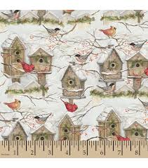 holiday inspirations christmas fabric susan winget winter bird