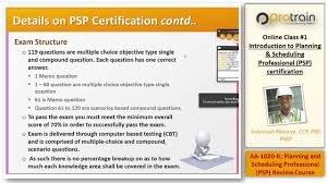introduction to planning and scheduling professional psp