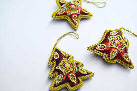 handmade ornaments from india vintage ornaments
