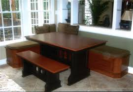 table with bench seat impressive popular of kitchen table with bench seats and best 20