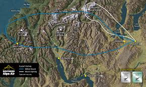 Alps On A Map Home Southern Alps Air Wanaka New Zealand
