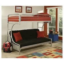 Twin Xl Loft Bed Frame Eclipse Kids Futon Bunk Bed Silver Twin Xl Queen Acme Target