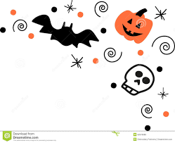 halloween border corner u2013 festival collections