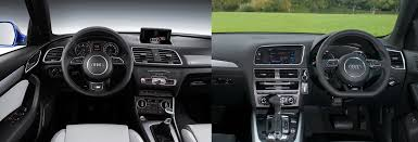 Audi Q3 Interior Pictures Audi Q3 Vs Audi Q5 U2013 Side By Side Uk Comparison Carwow