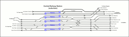 cityrail central track diagram house plan grand station floor