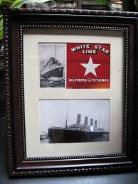 Titanic Second Class Menu by Art Garden Diva The Last Titanic Dinner