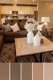 brown living room set a neutral design palette is timeless pulte homes spring decor