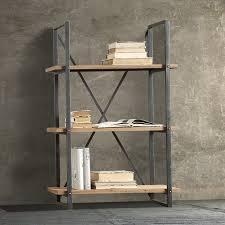 scaffali metallici ikea mensole metallo moderne libreria scaffale legno metallo p with