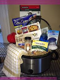 raffle basket themes sherry briggs crockpot gift basket amazing gifts