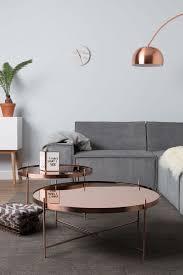 copper top coffee table ethan allen medium suede espresso casters