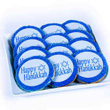 hanukkah gift baskets hanukkah sugar cookies from smiley cookie