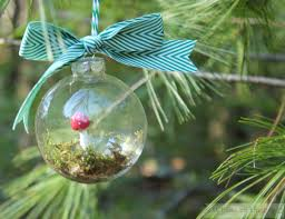 Christmas Decorations To Make At Home by Faux Mushroom Terrarium Ornaments