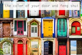 what color is your front door some feng shui color energy tips
