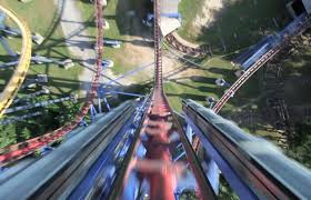 Six Flags Fort Worth Mr Freeze Reverse Blast Pov 2012 Roller Coaster Six Flags Over