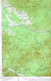 Mount Washington Trail Map by Mount Washington Nh Quadrangle