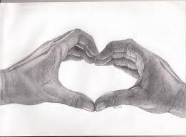 heart with hands by bajan art on deviantart