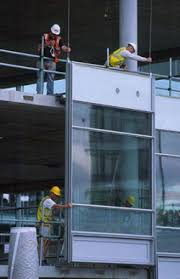 Unitized Curtain Wall Facades And Interfaces Steelconstruction Info